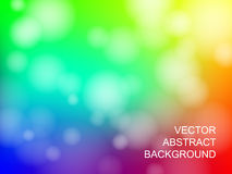Vector abstract background. Vector abstract colorful bokeh background Royalty Free Stock Images