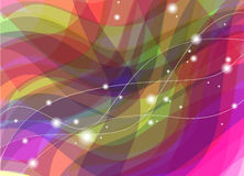 Vector abstract background. Vector abstract colorful background. Bright harmonic colors Royalty Free Stock Photo
