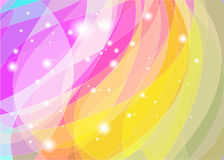 Vector abstract background. Vector abstract colorful background. Bright harmonic colors Stock Images