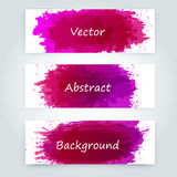 Vector abstract background. With big splash and place for your text. Grunge Vector Illustration. Splatter template Stock Photography