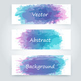 Vector abstract background. With big splash and place for your text. Grunge Vector Illustration. Splatter template Stock Image