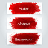 Vector abstract background. With big splash and place for your text. Grunge Vector Illustration. Splatter template Stock Images