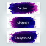 Vector abstract background. With big splash and place for your text. Grunge Vector Illustration. Splatter template Royalty Free Stock Photos