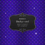 Vector abstract background with black crest Royalty Free Stock Photos
