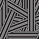 Vector abstract background with black and white lines Royalty Free Stock Photography