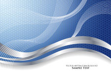 Vector abstract background blue Royalty Free Stock Photo