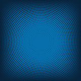 Vector abstract background from blue halftone Royalty Free Stock Photography