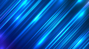 Vector abstract background with blue motion blur shining.  Stock Photography