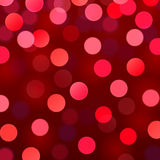 Vector abstract background with bokeh lights Royalty Free Stock Photography