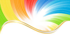 Vector abstract background in bright color stock images