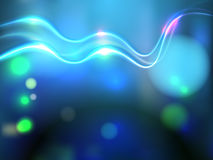 Vector abstract background. With bright colored flares and flashes Royalty Free Stock Photo