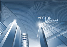 Vector abstract background of the building Stock Image