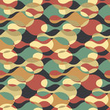 Vector abstract background. Camouflage seamless pattern. Royalty Free Stock Photos