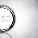 Vector abstract background circle button clean design Royalty Free Stock Photography