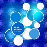 Vector abstract background. Circle red. Vector abstract background. Circle blue and light stock illustration