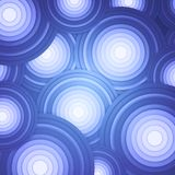 Vector abstract background with circles Royalty Free Stock Images