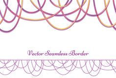 Vector abstract background with colored beads. Stock Photography