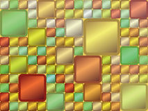 vector Abstract background of colored squares Royalty Free Stock Photo