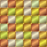 Vector Abstract background of colored squares. Vector geometric abstract background of colored squares Royalty Free Illustration