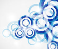 Vector abstract background: colorful circles Royalty Free Stock Images