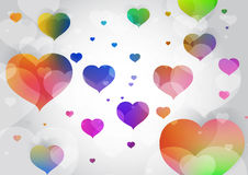 Vector abstract background with colorful Stock Image
