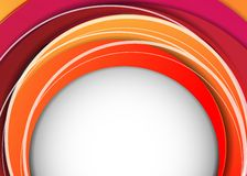 Vector abstract background with colorful layers Stock Photography