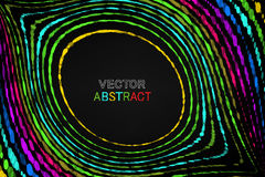 Vector abstract background. Colourful dots composition. Royalty Free Stock Images