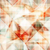 Vector abstract background. Consists of geometric elements. The elements have a triangular shape. In color Stock Photos