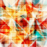Vector abstract background. Consists of geometric elements. The elements have a triangular shape. Stock Photos