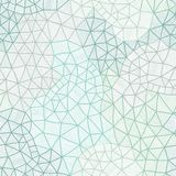Vector abstract background - Cool cell structure, Constellation Royalty Free Stock Images