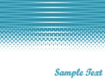 Vector abstract background with copy space. And halftone effect stock illustration