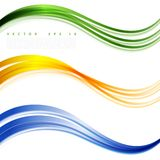 Vector abstract background design. Brochure design templates collection and waving Stock Photo