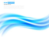 Vector abstract background design wavy Royalty Free Stock Image