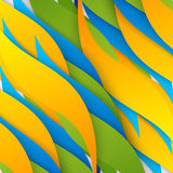 Vector abstract background design. Wavy.  Brochure design templates collection Royalty Free Stock Photo