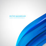 Vector abstract background design wavy Royalty Free Stock Photos