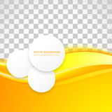 Vector abstract background design. Wavy.  Brochure design templates collection and circles Stock Photo
