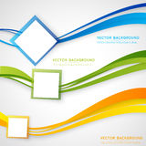 Vector abstract background design Stock Photography