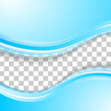 Vector abstract background design wavy. Brochure design templates collection and waving Stock Images