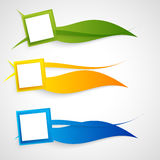 Vector abstract background design Stock Image