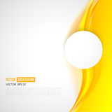 Vector abstract background design wavy. Vector abstract orange background design wavy. Brochure design templates collection and waving royalty free illustration