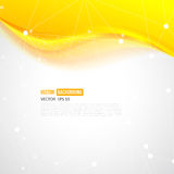 Vector abstract background design wavy Stock Photography