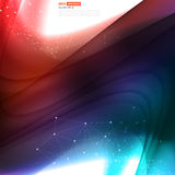 Vector abstract background design wavy Stock Photo