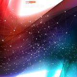 Vector abstract background design wavy. Vector abstract red background design wavy. Brochure design templates collection and waving Royalty Free Stock Photography
