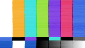 Vector abstract background Distorted glitch TV. Descendant network. Digilal No signal. Royalty Free Stock Image