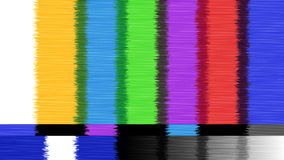 Vector abstract background Distorted glitch TV. Descendant network. Digilal No signal. Stock Image