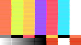 Vector abstract background Distorted glitch TV. Descendant network. Digilal No signal. Stock Photo