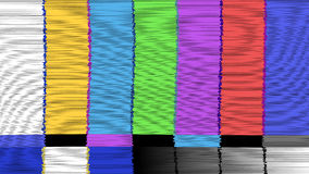 Vector abstract background Distorted glitch TV. Descendant network. Digilal No signal. Royalty Free Stock Photography