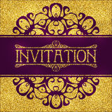 Vector abstract background in eastern style Royalty Free Stock Images