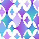 Vector abstract background of geometric shapes Stock Photography