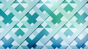 Geometric abstract background. Vector abstract background with geometric shapes, rhombus and triangles Stock Images